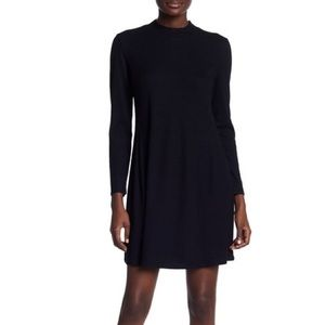 Madewell • City Block Ribbed Mock Neck Dress